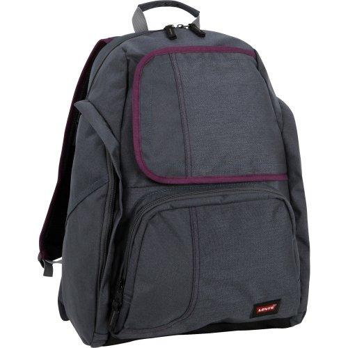 Levi's Kickstarter 19 Inch Backpack, Gunmetal Grey, One Size