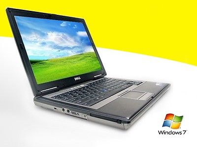 Dell Latitude D520 Dual Core Laptop DVD/CDRW WIFI Notebook Computer Windows 7