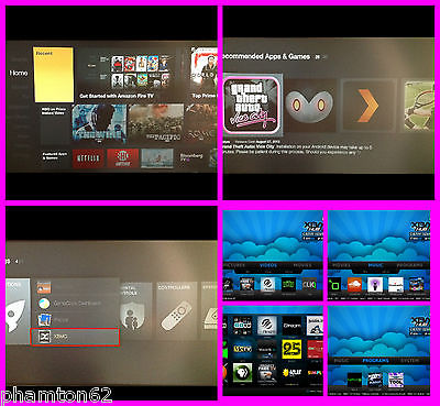 Amazon Fire TV instructions to install xbmc gotham with addons