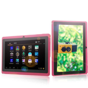 New 7″ Capacitive A13 Android 4.0 Tablet 1.2GHz 4GB 512MB Wifi Camera Pink