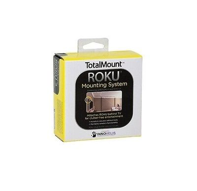 TotalMount Roku Mounting System Compatible with all Roku 2 models