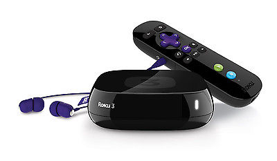 New Roku 3 HD 1080p Wireless Streaming Player Media Streamer
