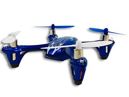 Hubsan X4 H107L Royal Blue H107 LED with Bonus Propeller Rotor Protection Guard