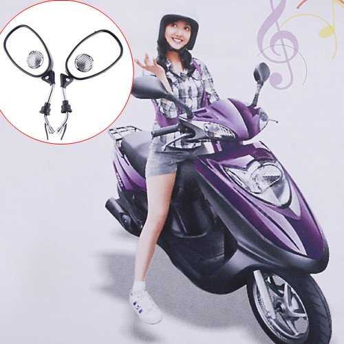 electric-motorcycle-bike-rearview-mirrors-mp3-fm-radio-speaker
