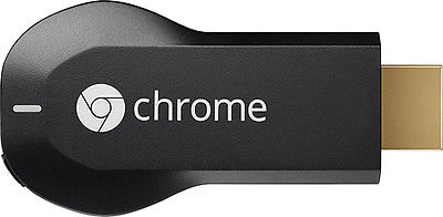 Google – Chromecast HDMI Streaming Media Player