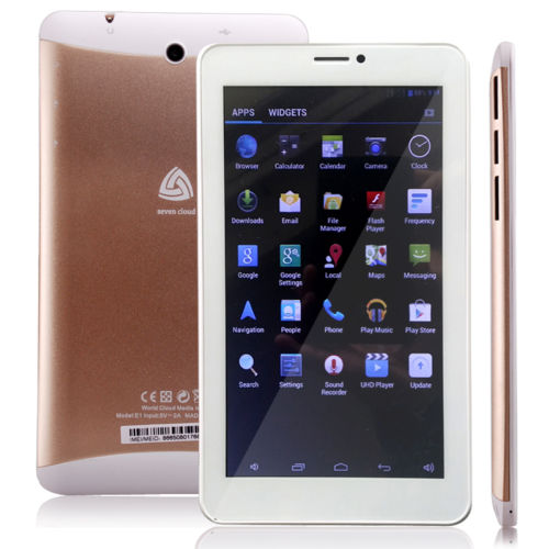 Unlocked GSM phablet Android PC 7 INCH Tablet BLUETOOTH