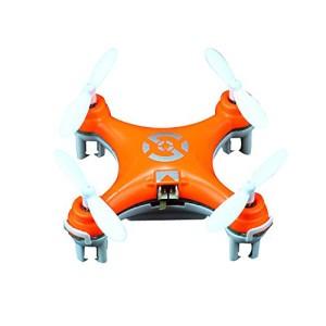 ZPS(TM) Cheerson Cx-10 Mini 2.4g 4ch 6 Axis LED Rc Quadcopter Airplane Orange