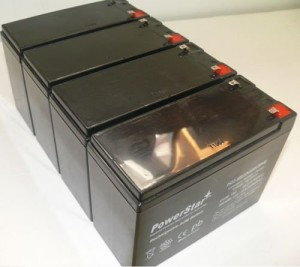 PowerStar 12V 10AH AGM SLA FRESH Battery