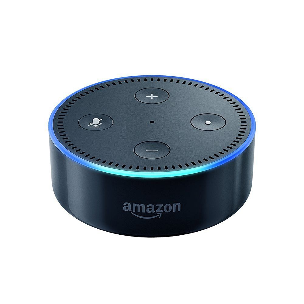 Echo Dot is on fire